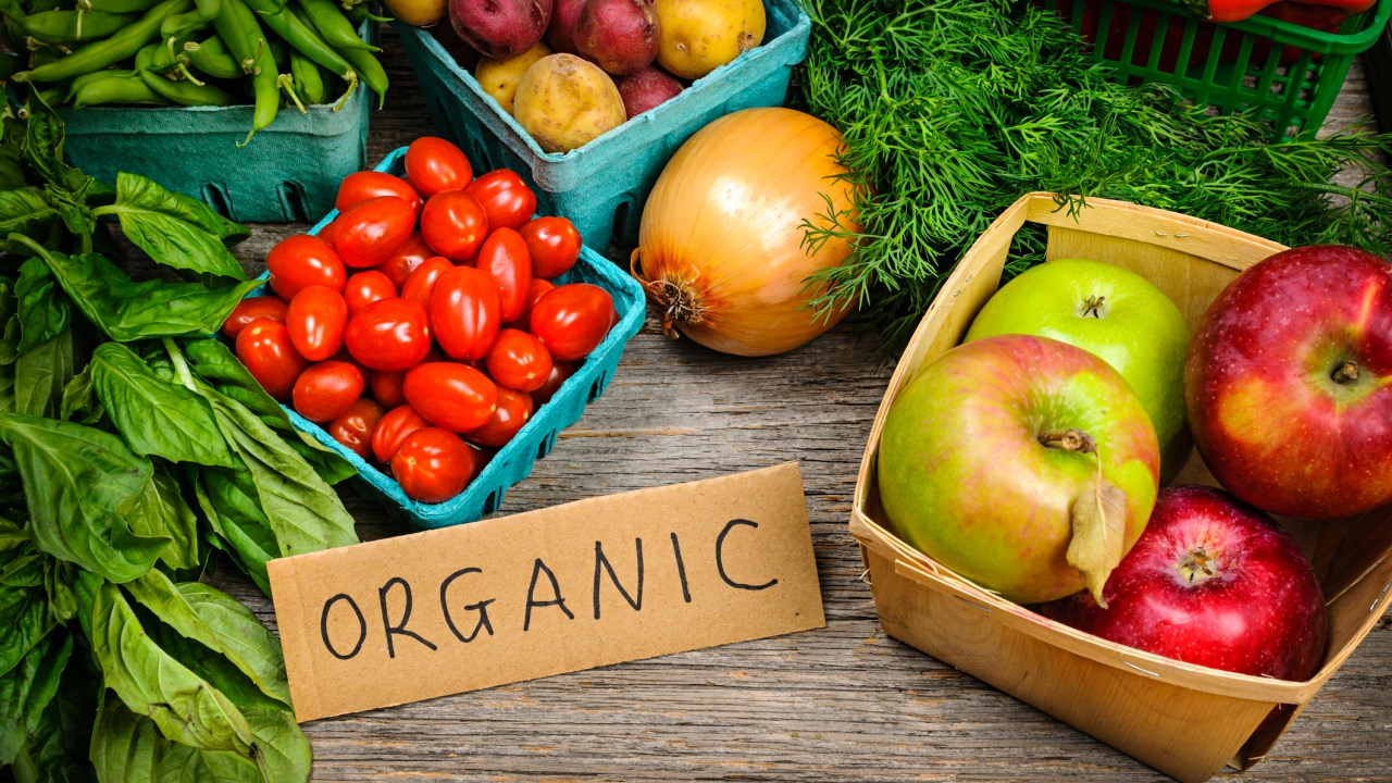 Organic food is low in chemicals, which may help ADHD symptoms.