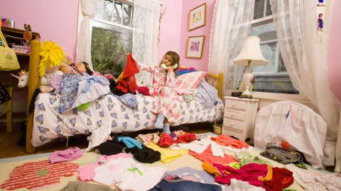 The Messy Bedroom (and Backpack) Cure for Kids with ADHD