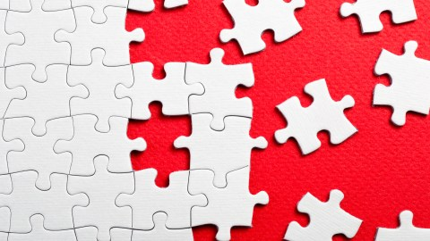 A jigsaw puzzle representation of the complex and evolving adhd mind.