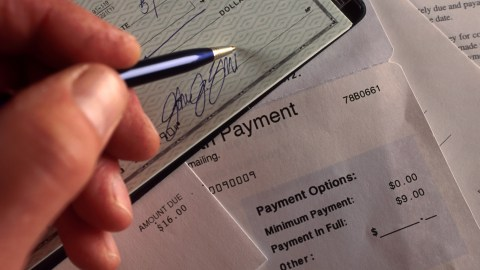 Signing a check. How do you know you have ADHD? You forget to pay bills.