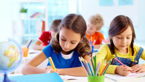 Students are writing, doing work because of the accommodations some think are an unfair advantage.
