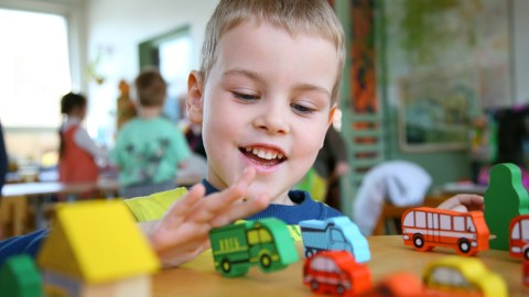 A boy who has a narrow interest in toy trucks could be exhibiting symptoms formerly associated with Asperger's syndrome.