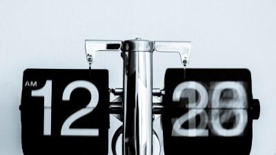 Time keeps ticking when procrastination kicks in
