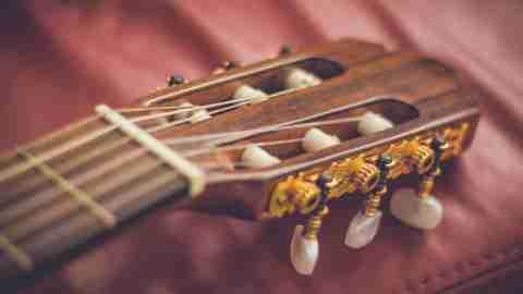 Leah Hanna King: Guitar Headstock & Tuners