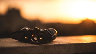 Binoculars improve focus and narrow your line of sight