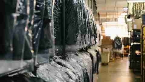 Debt and clutter go hand in hand, so keep tidy like a dry cleaner