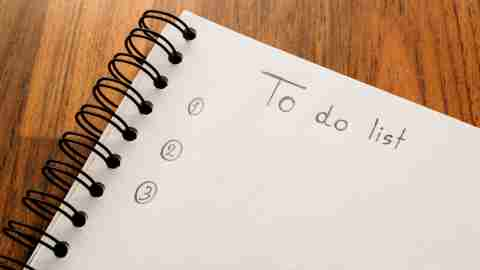 Project Planning for ADHD Adults. It all starts with a to do list