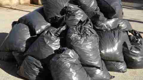 Spring Cleaning Garbage Bags