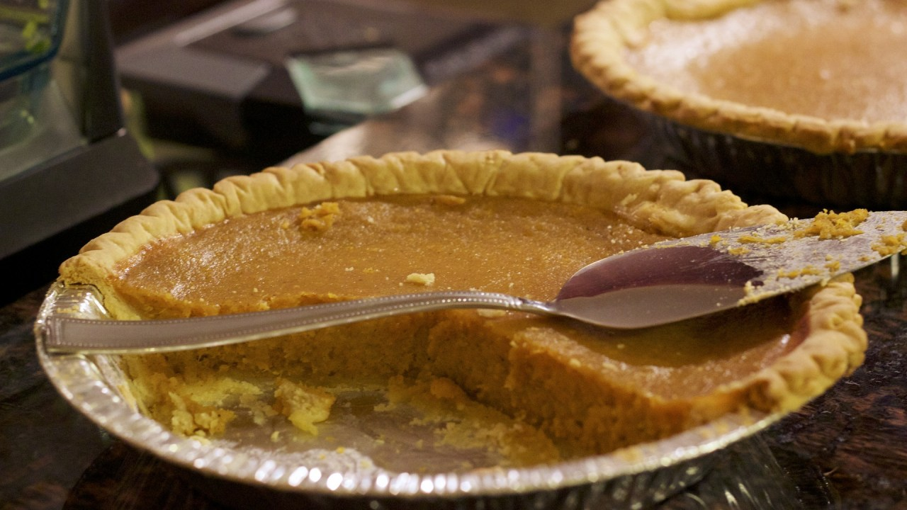 Thanksgiving, pumpkin pie, and ADHD