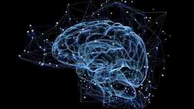 Illustration of ADHD person's brain
