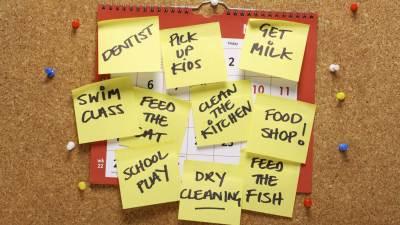 Calendars to Help Organize ADHD Families