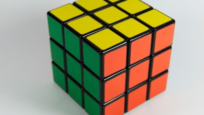 Rubic's Cube helps Peggy White build a bond with her students