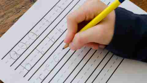ADHD in School: Tips for Teachers on Handwriting Help
