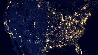 National Survey Shows Poor ADHD Trends: USA Light Map