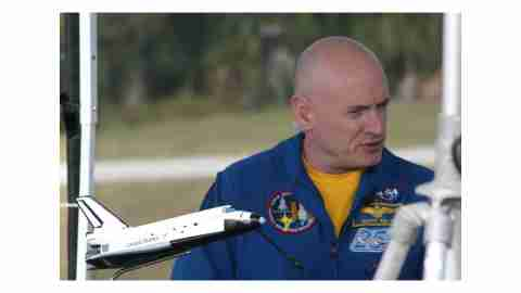 Scott Kelly, a celebrity with ADHD
