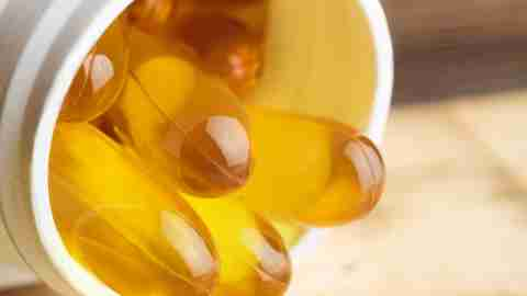 Fish oil capsules that can boost ADHD brain function