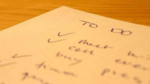 A to do list, one way to motivate a teenager