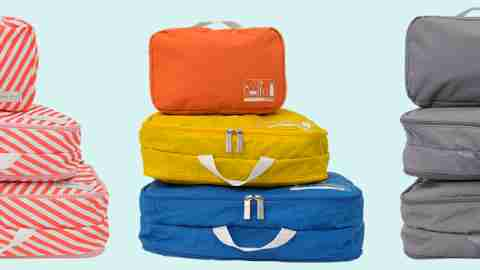 Spacepak travel set, a gift that can solve the ADHD problem of disorganized suitcases.