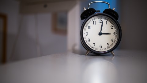 An alarm clock, a tool celebrities with ADHD use to get up early