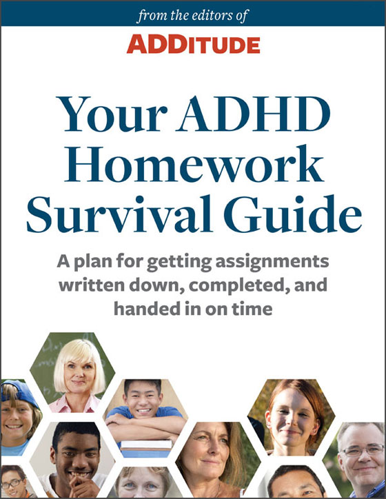 ADDitude eBook: Your ADHD Homework Survival Guide: A Special Report from ADDitude Cover