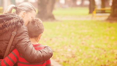 mother and son who rely on ADDitude for support and information about ADHD
