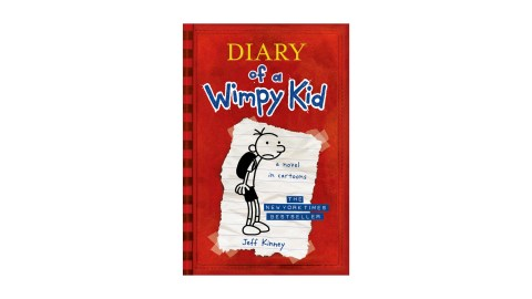 Diary of a Wimpy Kid is a great book series for children with ADHD to read