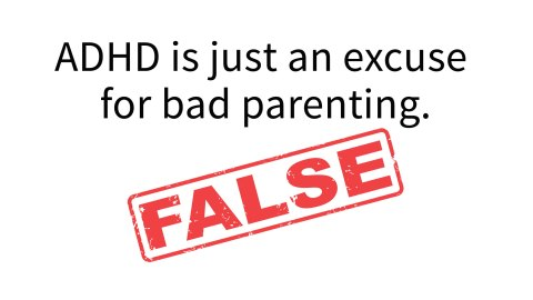 Adhd Supports Are Often Ineffective >> Common Myths About Adhd 10 Lies Told To Parents