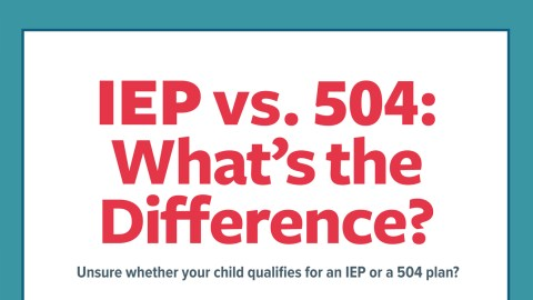504 Plan Or Iep Whats Difference >> Iep Vs 504 School Laws Learning Accommodations