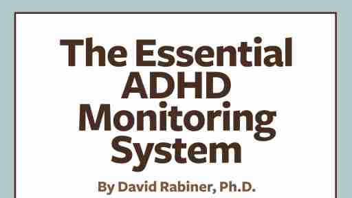 How to monitor ADHD medication