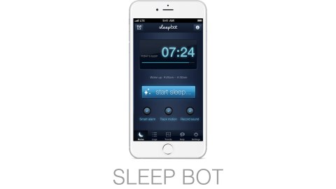 No need to manage multiple apps, SleepBot is an all-in-one sleep tracker, smart alarm, and ambient sound machine.
