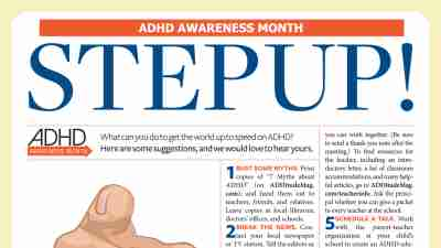 ADHD Advocacy: Step Up and Speak Out