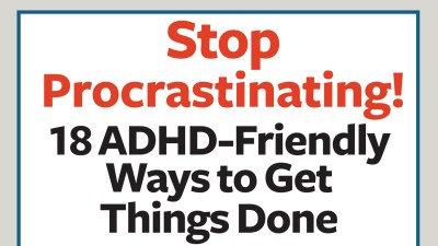 ADHD-friendly ways to get things done