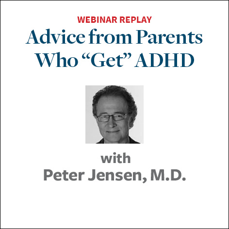 advice from parents who get adhd