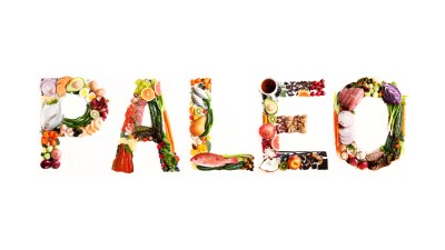 Word Paleo made out of Paleo Diet Foods, real and wholesome good for ADHDers