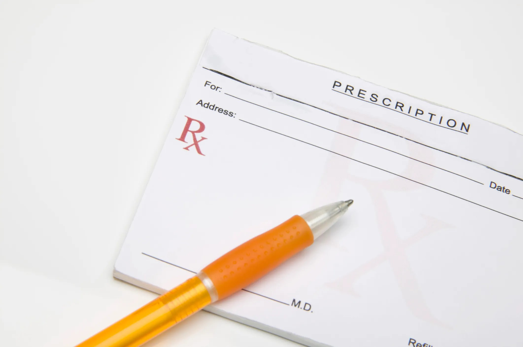 prescription pad for ADHD medication