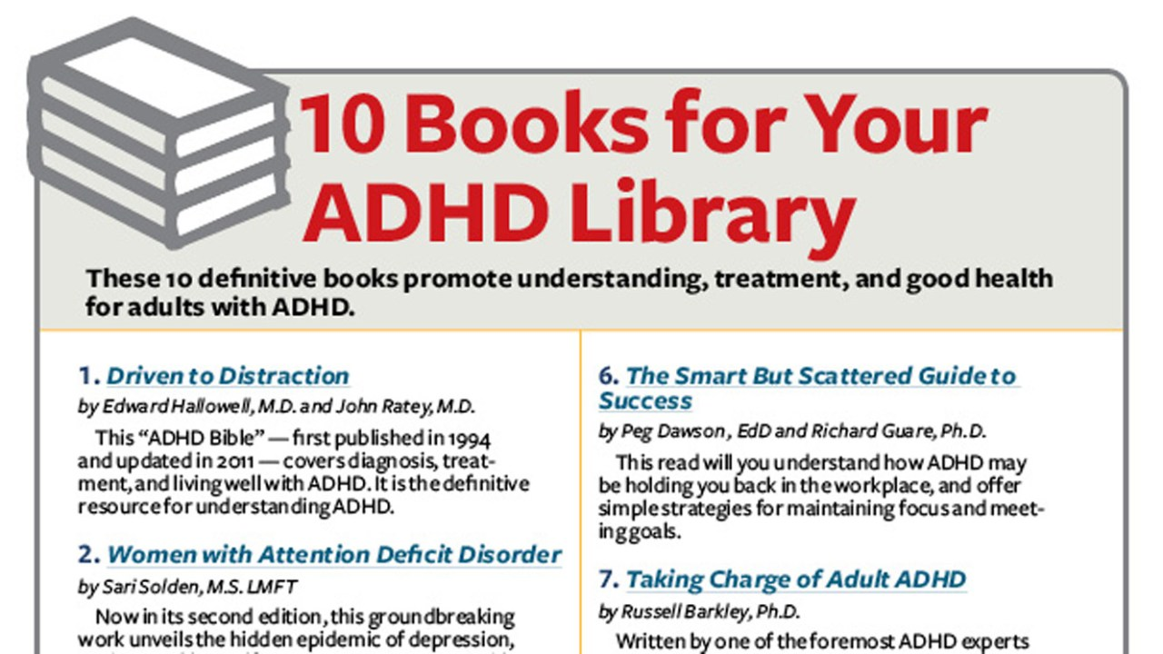 Life with Adult ADHD: Time, Health, Organization Resources