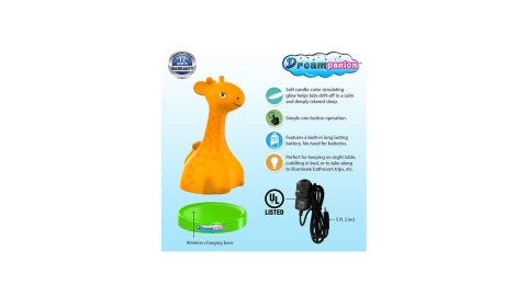 The Dreampanion Portable Soothing Night Light is is a great school gadget for children with ADHD