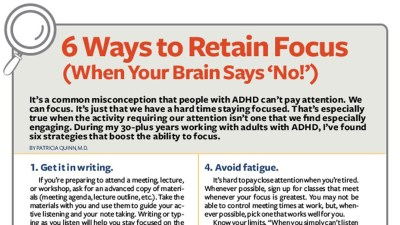 How to Focus with Adult ADHD: Free Download
