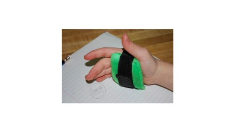 The palm weight is a great product for fidgety children with ADHD
