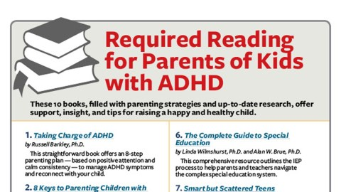 ADHD Parenting Books: Top 10 Experts on Raising Your Child