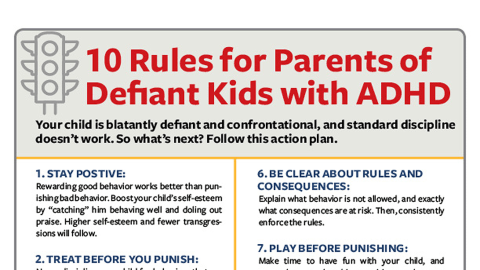 adhd and defiance