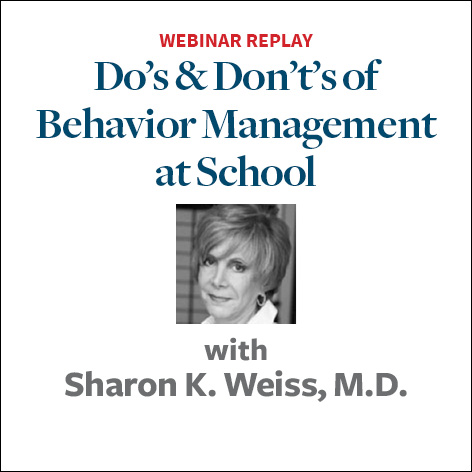 dos and donts of behavior management at school