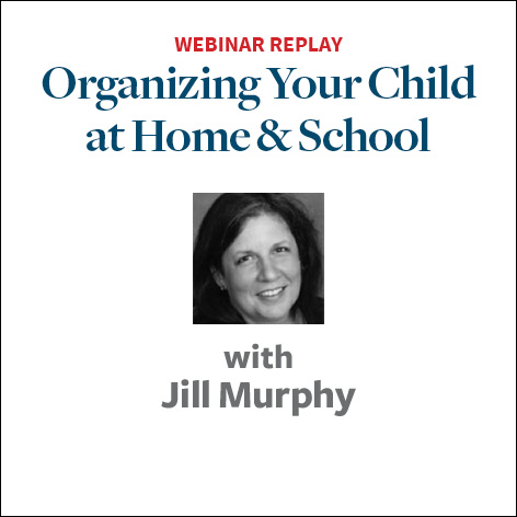 organizing your child at school and home