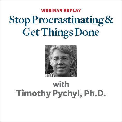 stop procrastinating and get things done