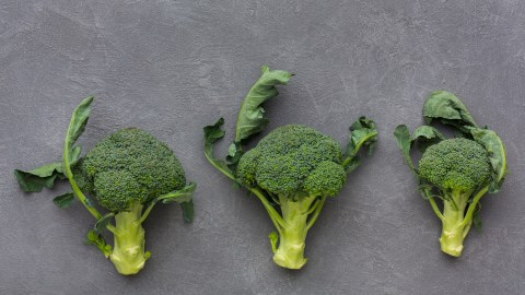 Broccoli, a food with omega-3