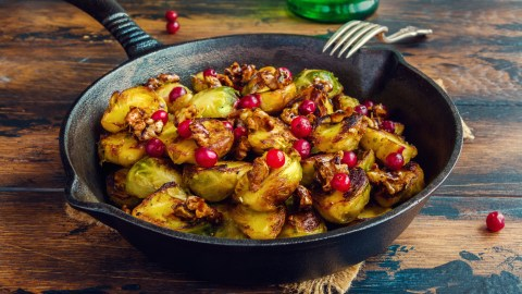 Brussels sprouts, food with omega-3