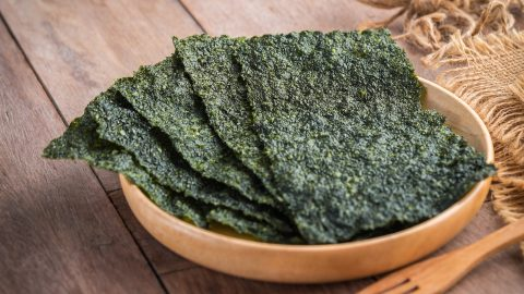 Seaweed, a food with a lot of omega-3