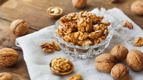 Walnuts, a snack with omega-3