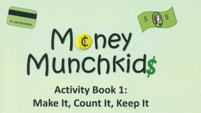 Cover of Money Munchkids Activity Book 1