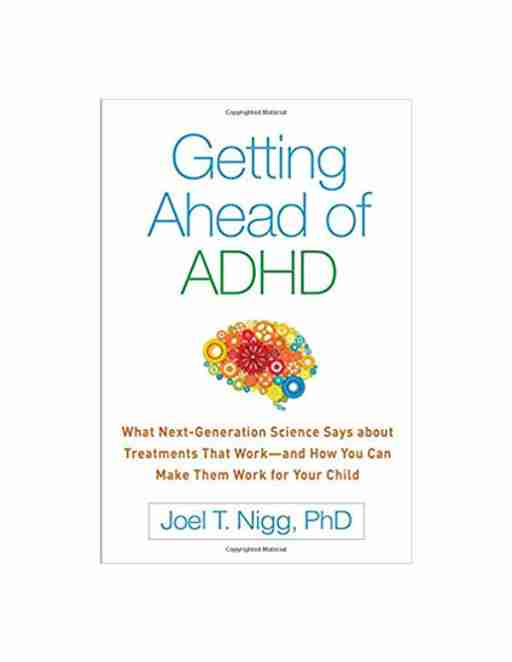 Getting ahead of ADHD book cover by Joel Nigg